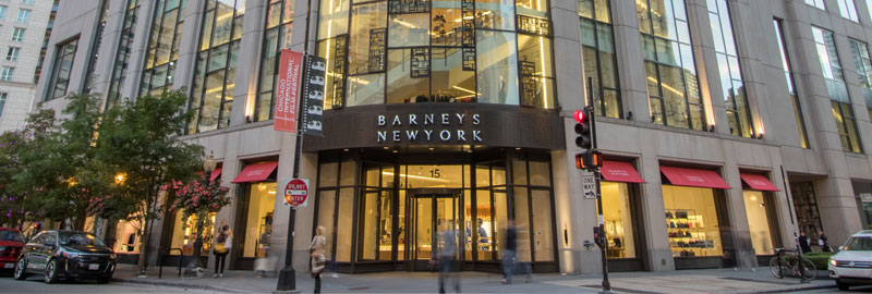 Barneys New York Womenswear, Shoes, Cosmetics & Accessories Oak Street, Chicago