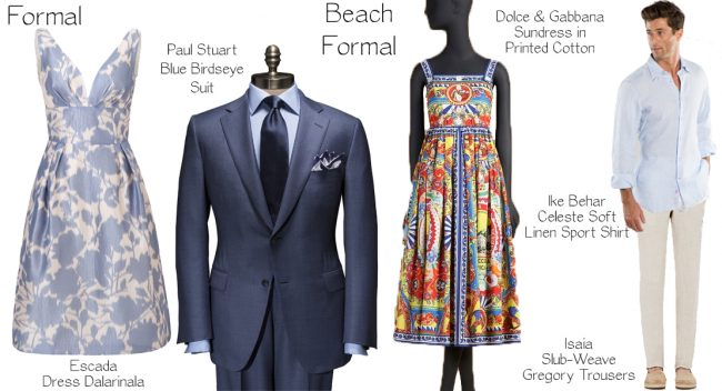Formal and Beach
