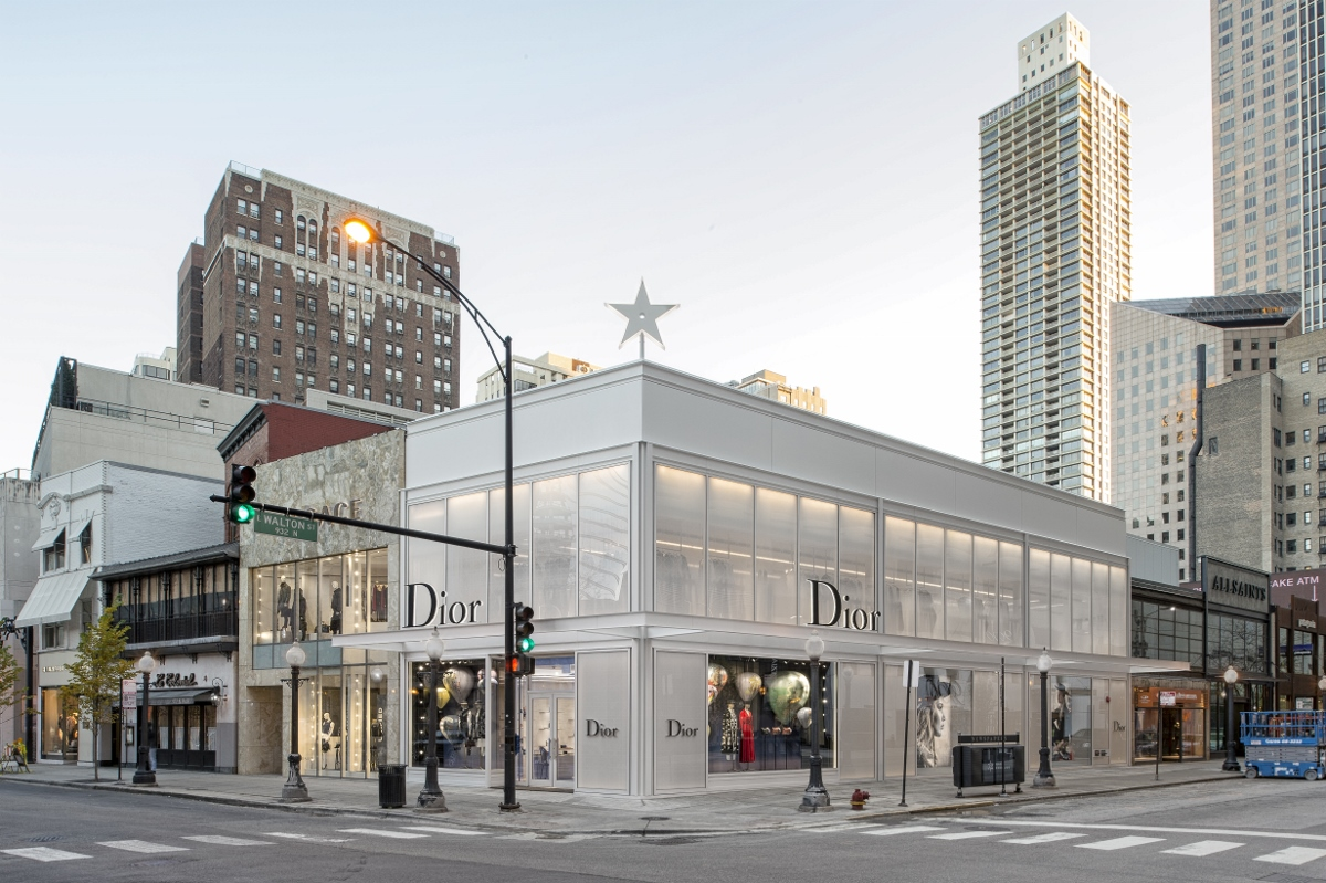 Dior Boutique in Chicago