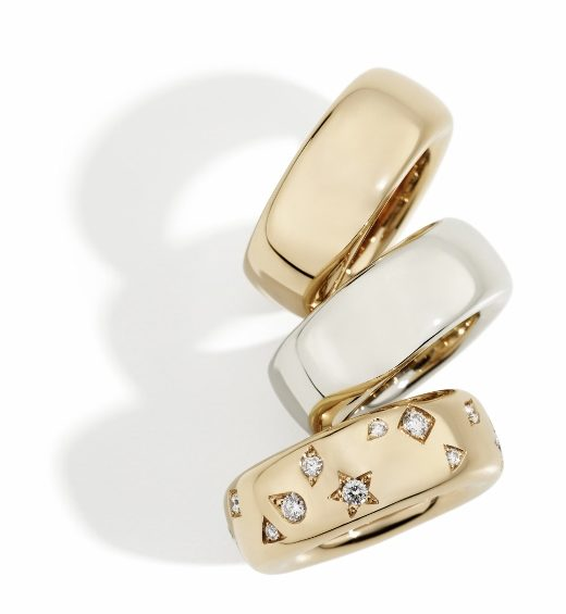Gold Collection band rings Pomellato_3