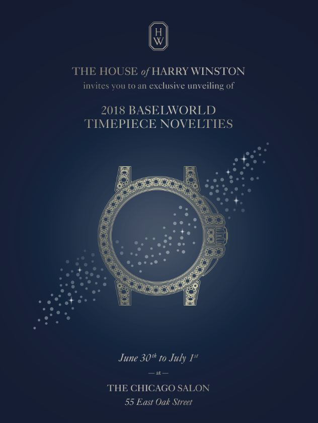 Harry Winston Baselworld on Oak Street in Chicago
