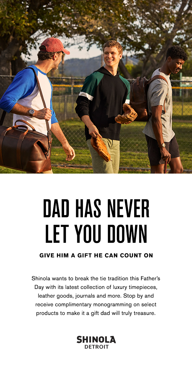 Shinola's Father's Day Event