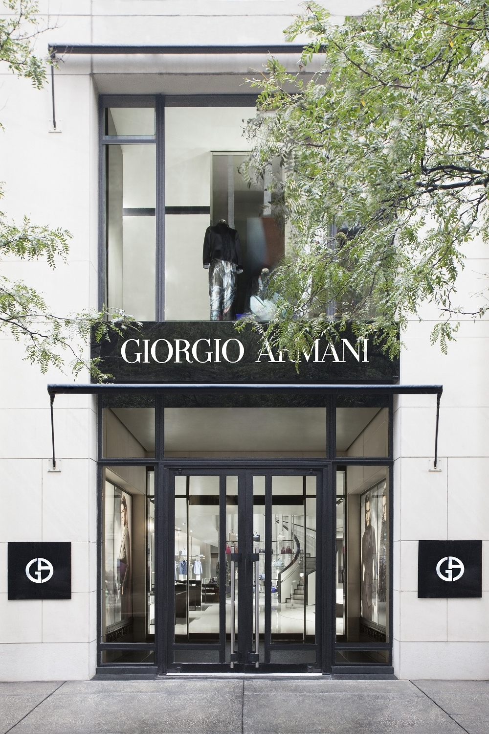 Giorgio Armani in Chicago on Oak Street