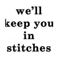 we'll keep you in stiches